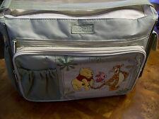 Disney Winnie The Pooh Diaper Bag w/Changing Pad Tote Shoulder Bag Purse