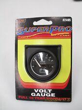 "Make Waves Automotive Volt Gauge #2495b  (1 1/2"" Diameter)"
