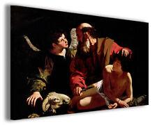 Quadri famosi Caravaggio XIV stampe riproduzioni su tela copia falso d'autore