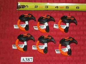 """6 - Cable Cuff PRO Small Cable Clamps Adjustable & Reusable 1"""" CFSP030808"""