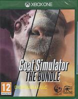 Goat Simulator The Bundle Xbox One Brand New Sealed GoatZ & MMO Sim
