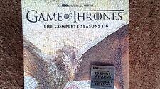 GAME OF THRONES: Seasons 1-6 (DVD, 2016) Season 1 2 3 4 5 6 Complete Set -New