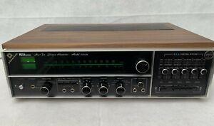 RARE Vintage JVC Nivico 5550u Stereo Receiver Amp 6ch w/ Phono Preamp 220 watts