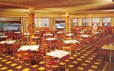 Ashtabula Ohio 1960s Postcard  Swallows Gourmet Steak Chops & Seafood Restaurant
