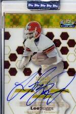 lee suggs rookie rc draft auto autograph browns virginia va tech hokies 4/50 03