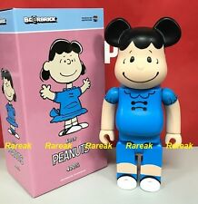 Medicom Be@rbrick 2016 The Peanuts Comic 400% Snoopy Lucy Bearbrick 1pc