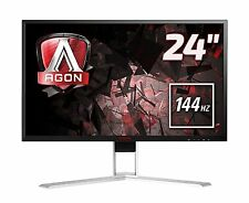 "AOC 24"" AGON AG241QX GAMING QHD LED MONITOR WITH 144 Hz + 1 MS RESPONSE TIME"