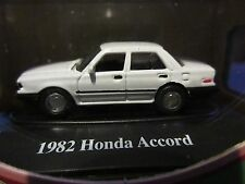 1:87 HO Scale 1982 Honda Accord WHITE Fresh Cherries 1:87 Motor Max RARE