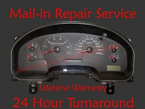 04-08 FORD F150 Speedometer Dash Instrument Gauge Cluster Display REPAIR SERVICE