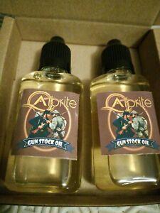 Premium Grade Gun Stock oil 2 bottles.