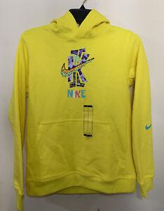 Nike Boys Kyrie x Spongebob Fleece Pullover Hoodie [DD9026-731] SBSP IRVING Sz S