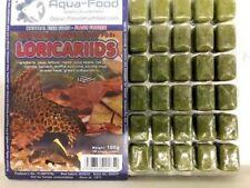 Premium Frozen Fish Food 5 x100g packs-loricaria mix with vitamins-FREE P&P