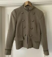 Zara Camel Military Style Jacket Size Small