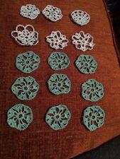 Christmas Ornaments Handmade  Set Of 15 Miscellaneous