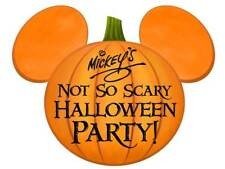 Authentic Disney World Mickey's Not So Scary Halloween Party 2 Tattoos Stickers