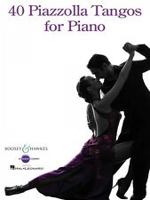 40 Piazzolla Tangos for Piano Sheet Music BH Piano Book NEW 048023139