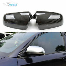 Replacement Carbon Fiber Mirror Covers Housing for Audi A3 A4 A6 B6 B7 2004-2008