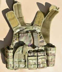 Viper Tactical Camouflage Vest V-CAM with Pouches Airsoft Paintball Army