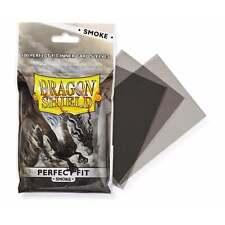 MTG Nuevo Y En Caja DRAGON ESCUDO Mangas Ajuste Perfecto humo Card Sleeves Dspf 100SM (100)