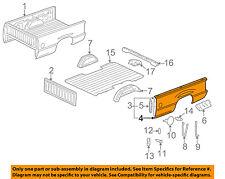 GM OEM Pick Up Box Bed-Outer Side Panel Left 15195678