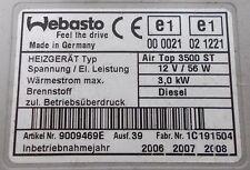 GENUINE VW TRANSPORTER T5 AUXILIARY REMOTE CONTROL WEBASTO HEATER 7H0 819 006 M