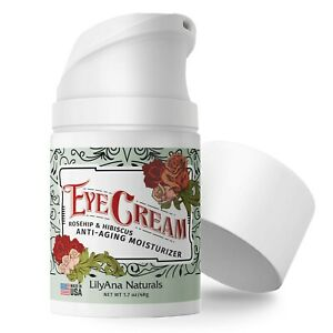 LilyAna Naturals Eye Cream - Made in USA, Eye Cream for Dark Circles and Puff...