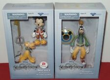 NEW SEALED Kingdom Hearts Timeless River Action Figures MIckey Pluto & Goofy