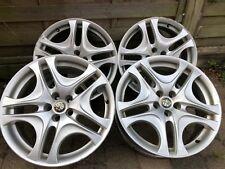 "Alfa Romeo Alloy Wheels genuine / original 17"" inch (147 & GT) Set of four (4)"