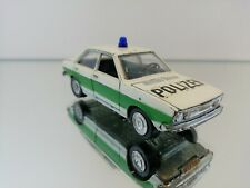 Audi 80 Polizei - Schuco 301610 Germany 1:43 in the coler white green