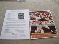 Mickey Mantle Autographed 8x10 Photo JSA CERTIFIED Personalized