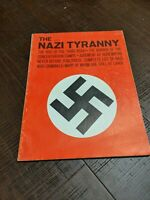 The Nazi Tyranny Magazine - VG+ Condition - 1961 One-off RARE - Sad Photos