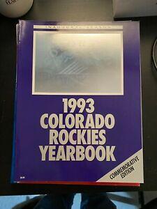 1993 Colorado Rockies Yearbook