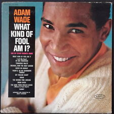 ADAM WADE - WHAT KIND OF FOOL AM I? 1963 US PRESS EPIC LN 24044 VG+ COND