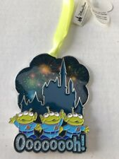 DISNEY PARKS TOY STORY Green Men Aliens Castle Fireworks OOOOOOH! Ornament NWT