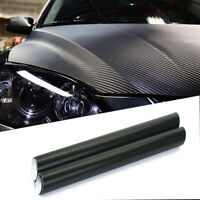 "1 pcs 50 ""x16"" Black 3D Twill-Weave Carbon Fiber Vinyl Film Wrap Sheet"