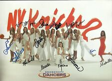 New York Knicks City Dancers Group Signed Autographed Promo Photo Card
