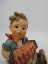 Hummel Goebel Figurine Accordion Boy Playing Music Vtg 1970s Tmk5 #390