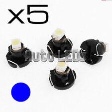 5 Blu SMD LED T3 Neo Wedge 12v LAMPADINA LED Interni
