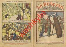 Le pèlerin n°2865 du 21/02/1932 Montreur d'ours Alpins Briançon