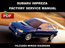 SUBARU 1993 1994 1995 1996 1997 1998 1999 2000 IMPREZA WORKSHOP REPAIR MANUAL