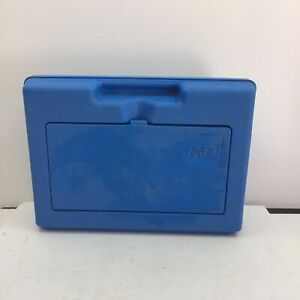 1983 Vintage Blue Lego Carrying Case Storage Box Bin, Hard Plastic USA