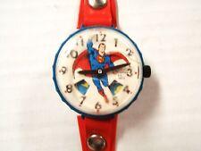 Vintage 1977 MARX Toys DC Comics SUPERMAN Wrist Watch