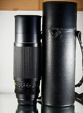 SUPER RARE SMC PENTAX ZOOM 85-210mm 1:3.5 f3.5 lens complete w/case and filter