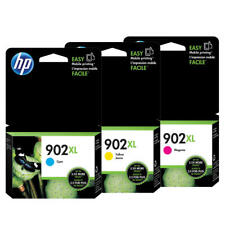 HP 902XL C/M/Y OEM Original Ink Cartridge Combo Set (High Yield)