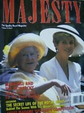 Majesty Magazine Marriage & The Monarchy V13 #8 August 1992