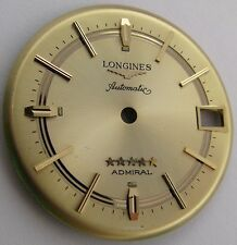 Longines automatic Admiral Watch Dial 30.7 mm, gilt color