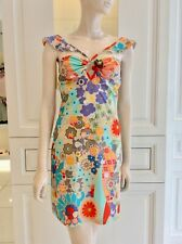 Galliano Flower Power Swim Summer Beach Dress New with tags