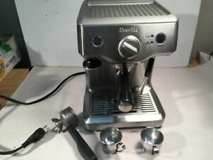 Used Breville Duotemp Pro Model BES810 Coffee/Expresso Machine Fully Functional