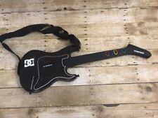 Guitar Hero PS2 Controller Kramer Striker No Dongle Black w/ Strap