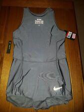 Women's NIKE POWER RUNNING DIVISION bodysuit new LARGE